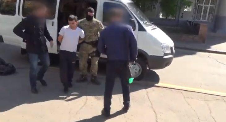 Задержание вербовщика