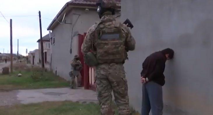 Задержание террористов