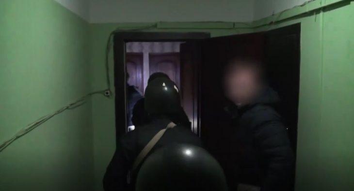 Задержание экстремистов