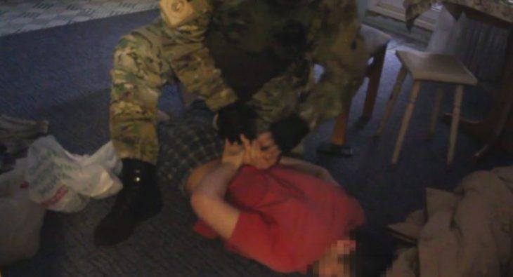Задержание таджика